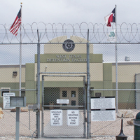Detention facility Courtesy of ICE