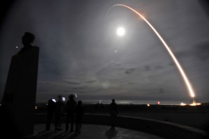 Launch of unarmed Minuteman III intercontinental ballistic missile