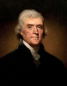 Thomas Jefferson worried about electioneering.