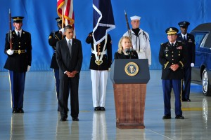 Secretary of State Clinton on lives lost in Libya