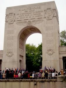 Le Mémorial de l'Escadrille La Fayette,