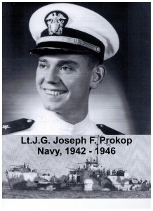 Lt. J.G. Joseph F. Prokop, World War II Veteran