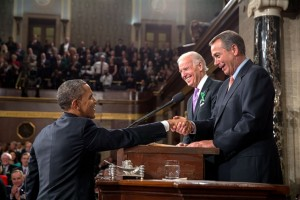 President Obama, Vice President Biden, and John Boehner: denial on Capitol Hill