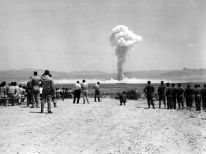 X-15 flight cancelled because of Project SMALL BOY a nuclear test at Yucca Flat, Nevada.
