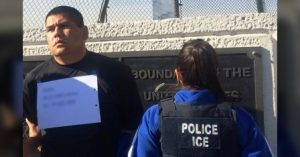 ICE removal of homicide suspect. Courtesy of ICE.