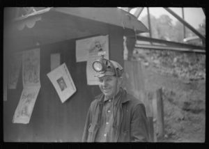 Coal miner. Courtesy Library of Congress.