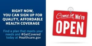 Progressive goals that hurt us: Obamacare Get Covered promotion. Courtesy Whitehouse.gov.