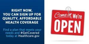 Progressive goals that hurt us: Obamacare Get Covered promotion. Courtesy Whitehouse.gov.