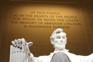 How long since integrity mattered? Lincoln Memorial. Courtesy NPS.