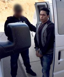 Alleged child rapist is deported to Honduras. Photo courtesy of ICE.