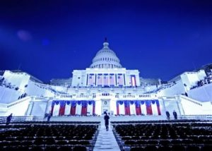 Inauguration preparations, Courtesy Department of Defense
