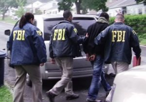 Will this become a whiteness problem? New York gang arrest, Newburgh, New York. Courtesy FBI.