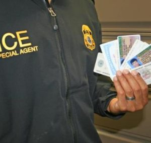 Identity fraud flourishes. Courtesy ICE.