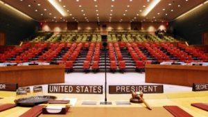 Atrocities won't end here. UN Security Council. USUN/Photo Don Conahan.