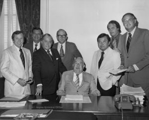 Watergate Committee. Dumping Trump won't help. Courtesy United States Senate Historical Office.