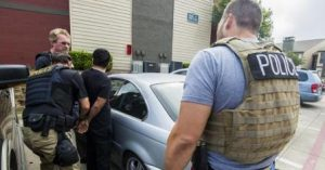 ICE arrests 70 in Dallas, Oklahoma: criminal aliens, illegal re-entrants and fugitives. Photo courtesy ICE.