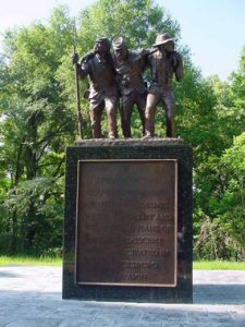When we erase history, where do we stop? Mississippi African American Monument, Vicksburg National Military Park. NPS Photo.