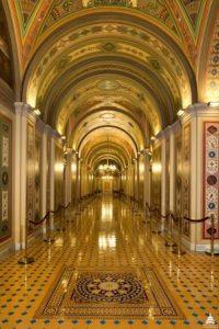 Brumidi Corridors, U.S. Capitol. Architect of the Capitol.