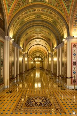 Brumidi Corridors, U.S. Capitol. Architect of the Capitol.
