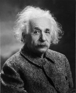 Albert Einstein. RAISE Act wants more of these. Credit: Library of Congress.