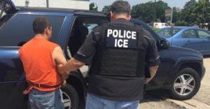 Sanctuary cities net arrests on the taxpayer dime. U.S. Immigration and Customs Enforcement photo.