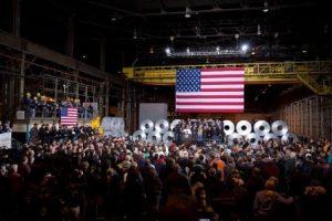 Barack Obama remarks on economy in Cleveland, Ohio.