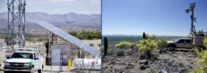Technology for border surveillance. CBP photo.