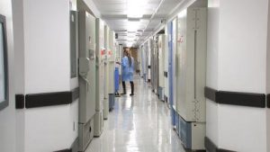 Fighting a flu epidemic: CDC Influenza Division Laboratory Facility. CDC/Emily Cramer.