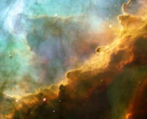 Hubble Space Telescope image of Omega Nebula. Is intelligent life out there? NASA photo.
