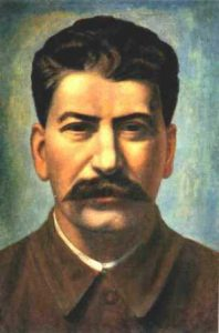 Picture of Joseph Stalin. Socialism will abolish America with a new ideal.