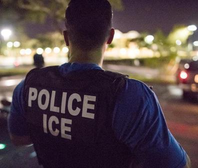 ICE Officer: Trust Act says no.