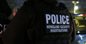 ICE Photo. Police Homeland Security Investigations.