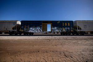 44 illegals found in boxcar. Photo courtesy CBP.