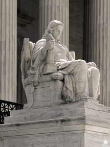 Contemplating Justice. U.S. Supreme Court. Architect of the Capitol.