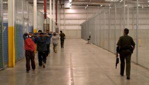 Border Patrol holding facility. CBP Photo.