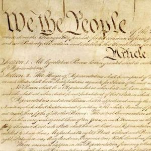 Image of Preamble of U.S. Constitution