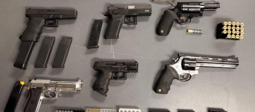 Guns seized by DEA